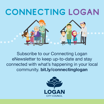 Connecting logan - side banner