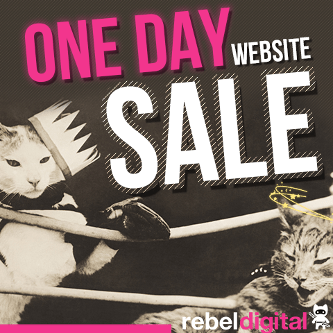 Rebel Digital One Day Sale Side ad