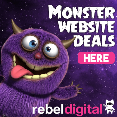 Rebel Digital Websites Side Ad